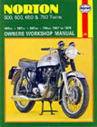 Norton 500, 600, 650 and 750 Twins, by Haynes