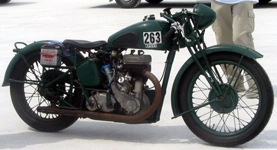 Jenkins BSA Land Speed Record Holder