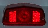 Lucas tail-lamp lens