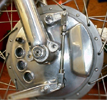 muttznutz extended brake arm for Norton brake