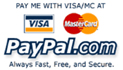 Sign up to pay with your credit card